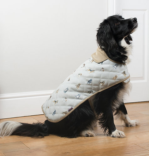 Image of Wrendale Designs Its a Dog's Life Large Dog Puppy Coat