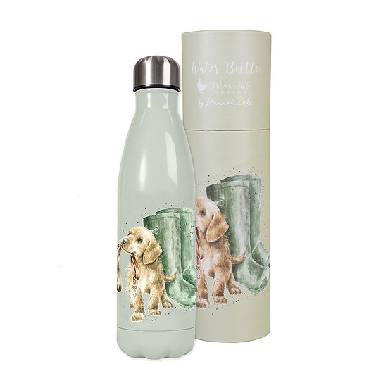 Image of Hopeful Dog Water Bottle and Tube by Wrendale Designs