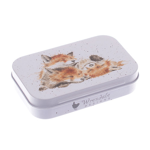 Fox Mini Gift Tin by Wrendale Designs
