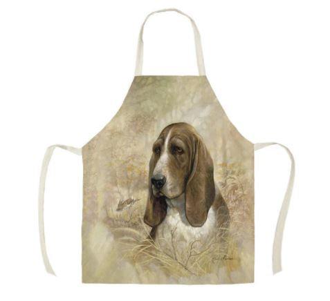 Image of Basset Hound Dog Apron