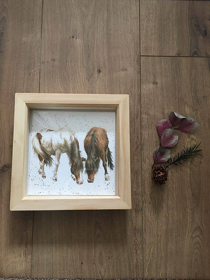 Stable Mates Wrendale Designs Horse Pony Greetings Card 2 in 1 Gift