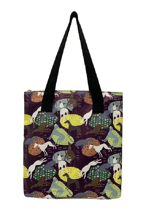 Image of Greyhound Dog Tote Shopper Bag