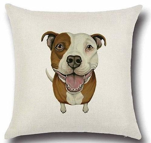 Staffordshire Bull Terrier Dog Cushion Cover