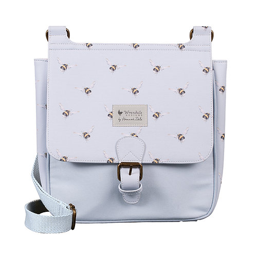 Image of Flight of the Bumblebee Satchel Bag by Wrendale Designs