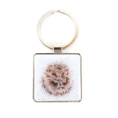 Image of Wrendale Awakening Hedgehog Keyring