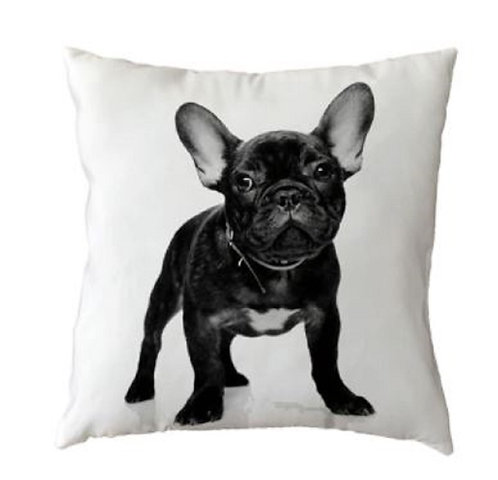 Image of French Bulldog Puppy  Dog Cushion Cover