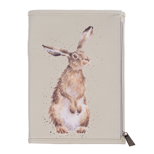 Image of Hare Notebook Wallet by Wrendale Designs