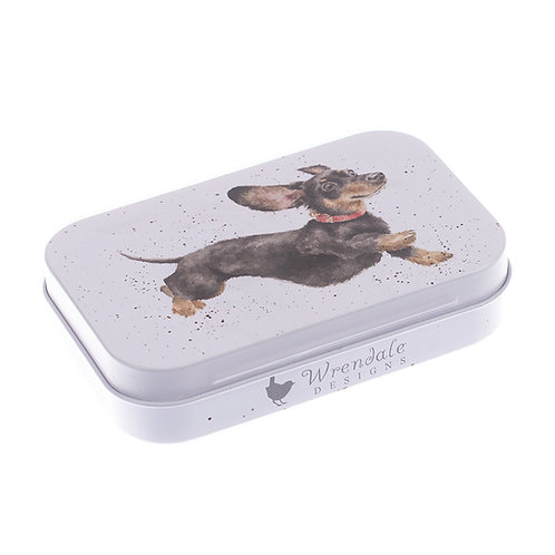 Image of Dachshund Mini Gift Tin by Wrendale Designs