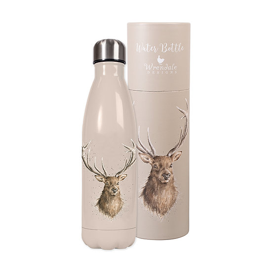 Image of Stag Water Bottle and Tube by Wrendale Designs