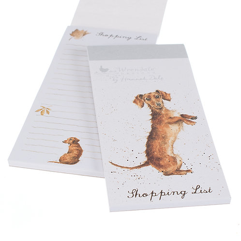 Image of Wrendale Designs Dachshund Dog Magnetic Shopping Pad