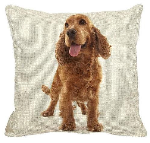 Cocker Spaniel Puppy Dog Cushion Covers