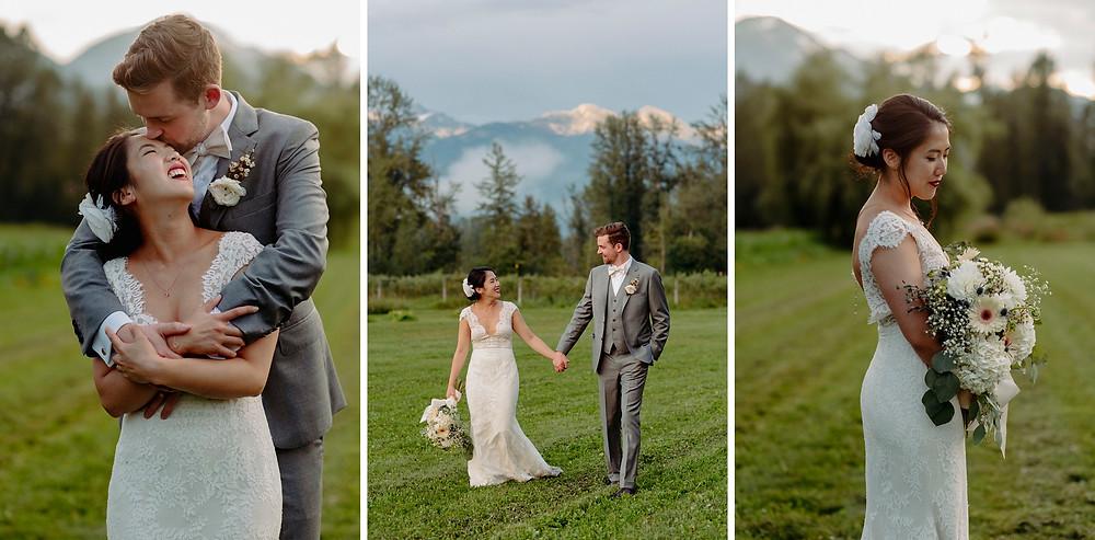 field pemberton whistler wedding couple