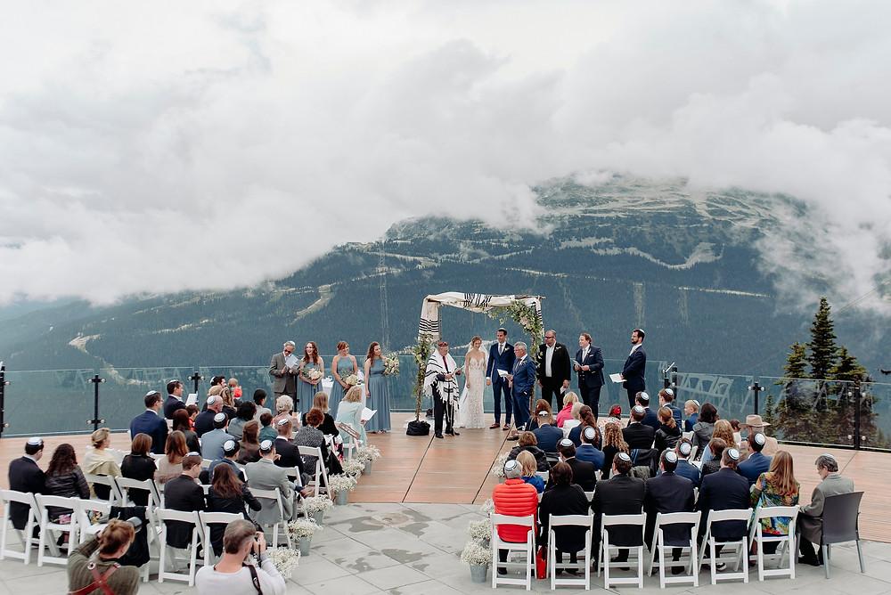whistler blackcomb roundhouse wedding ceremony