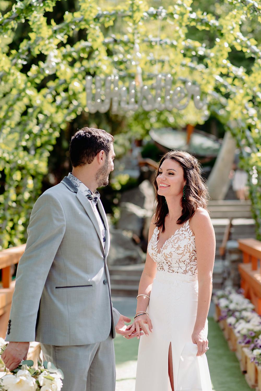 four seasons whistler wedding couple