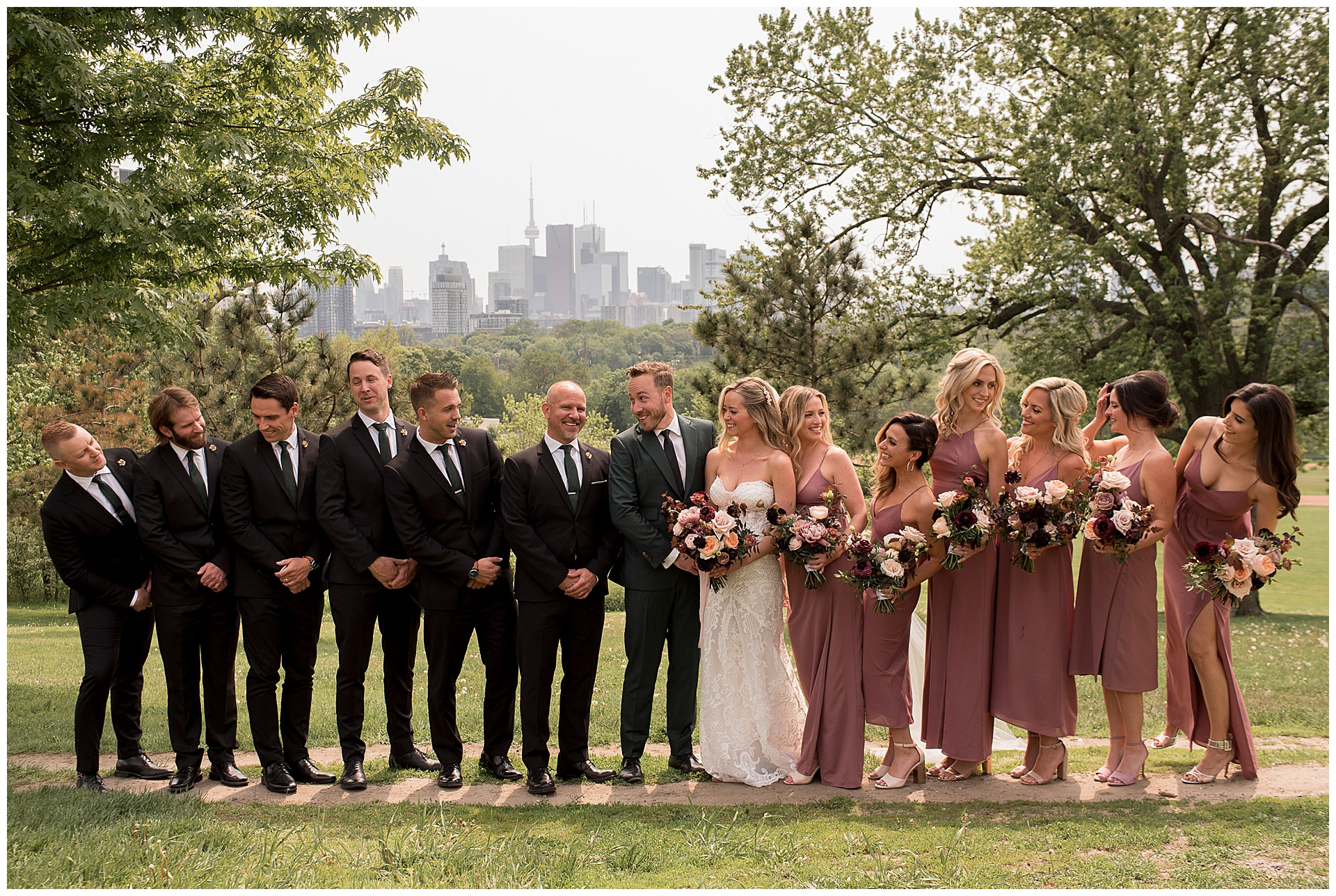 bridal-party-riverside-park-toronto