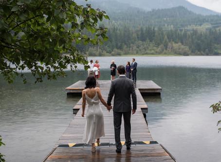 Whistler Elopement | Janice Power Weddings | Nita Lake Lodge