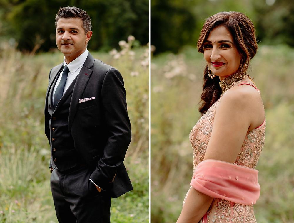 portrait bride groom vancouver elopement