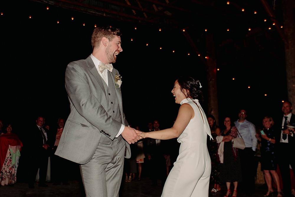 north arm farm wedding dance party