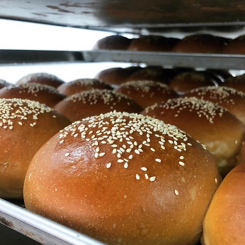 Pan de Hamburguesa Brioche
