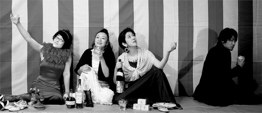 ボラ☆ボラ ボラボラ 演劇 舞台 芝居 公演 上演 俳優 女優 役者 全国ツアー 皆川あゆみ 前田晃男