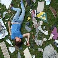 Artist Amoungst Debris