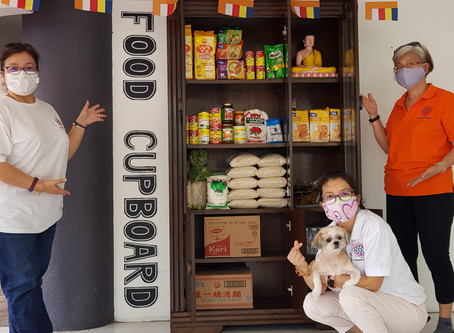 A Food Cupboard to Cultivate Kindness
