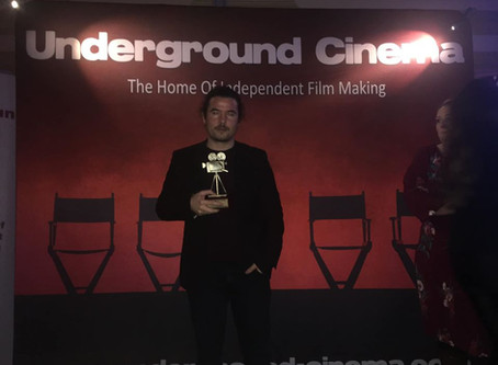 Best Screenplay Award at Underground Cinema Awards 2019