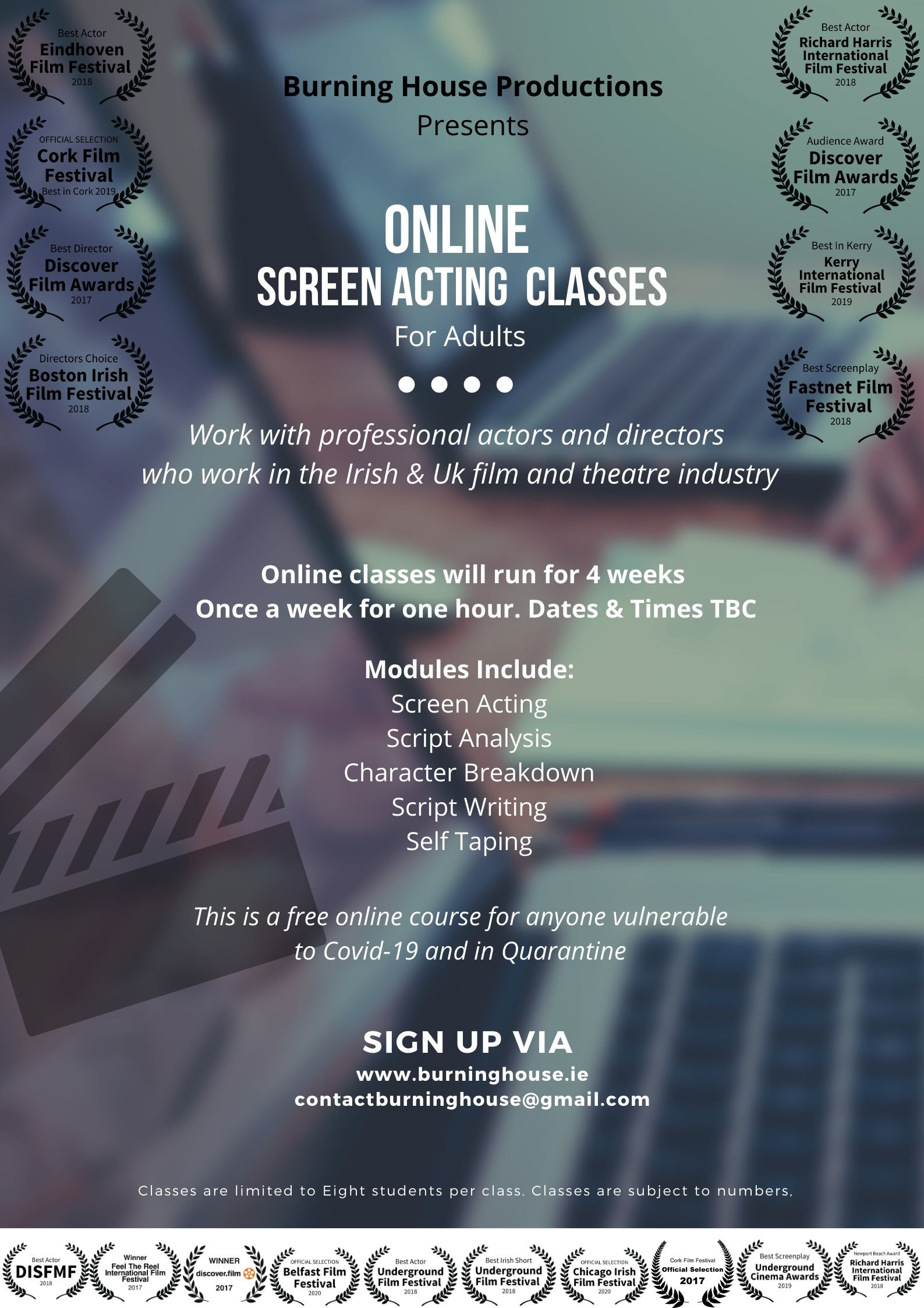 Free Online Screen Acting For Adults