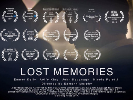 Lost Memories to screen at the 9th Underground Film Festival