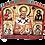 Thumbnail: Triptych: St. Nicholas / Sveti Nikola, small icons