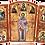 Thumbnail: Triptych: St. Ignatius the God-Bearer / Sveti Ignjatije Bogonosac, small icons