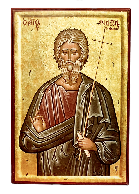 St. Andrew the Apostle/Sveti Andrej Prvozvani, medium icon