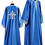 Thumbnail: Dechani Altar Servers Tunics – Blue with Silver Embroidery (14 pieces)