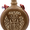 Thumbnail: Hand Crafted Wooden Flask with Icon (St. George)