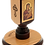 Thumbnail: Large Wooden Mahogany Candle Holder with icon (St. Petka)
