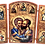Thumbnail: Triptych: Sts. Peter and Paul the Apostles,small icons