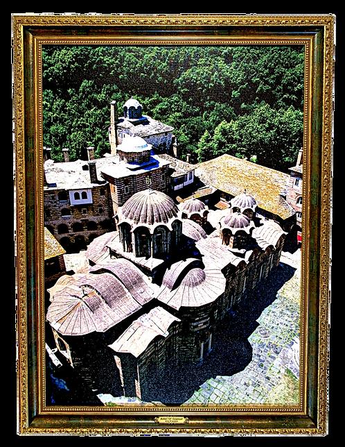 Hilandar Monastery/Manastir Hilandar, large wall art (2B)