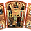 Thumbnail: Triptych: The Annunciation / Blagovesti, small icons