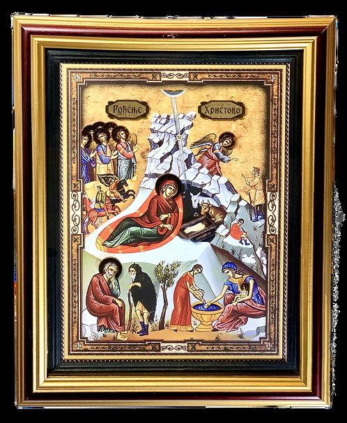 Nativity of Christ/Rodjenje Hristovo/large icon
