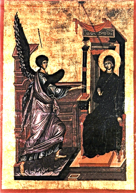 Blank Note Cards: The Annunciation