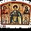 Thumbnail: Triptych: St. Demetrius/ Sveti Dimitrije, small icons