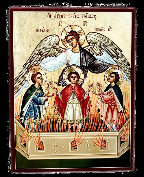 Three Young Men in the Furnace/ Tri mladica u uzarenoj peci, medium icon