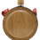 Thumbnail: Wooden Flask with Coat of Arms of Serbia