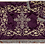 Thumbnail: Dechani Chalice Set – Purple with Gold Embroidery (Style I)