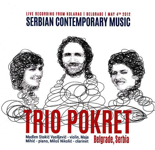 CD: Trio Pokret – Serbian Contemporary Music
