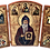 Thumbnail: Triptych: St. Alypius the Stylite / Sveti Alimpije Stolpnik, small icons