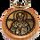 Thumbnail: Keychain Medallion, St. Nicholas/Sveti Nikola