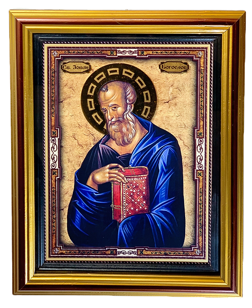 St. John the Theologian/Sveti Jovan Bogoslov, large icon
