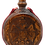 Thumbnail: Hand Carved Wooden Flask with Icon (St. Nicholas)