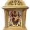 Thumbnail: Icon Wood Shrine: Most Holy Theotokos - Queen of All